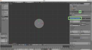 Circulo 2D en Vista Superior